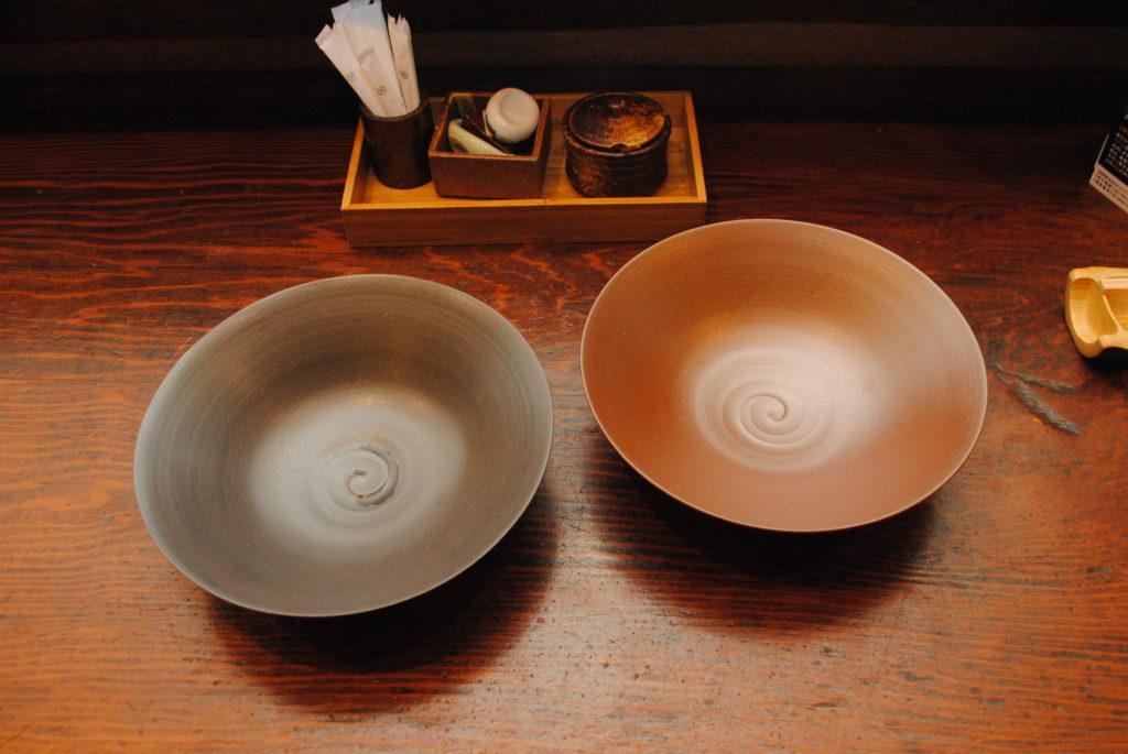 オリジナル越前焼き蕎麦鉢